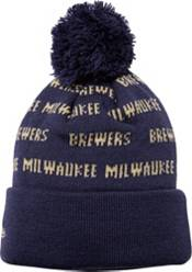 New Era Youth Milwaukee Brewers Repeat Knit Hat product image