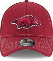 New Era Men's Arkansas Razorbacks Cardinal Sideline Road 39Thirty Stretch Fit Hat product image