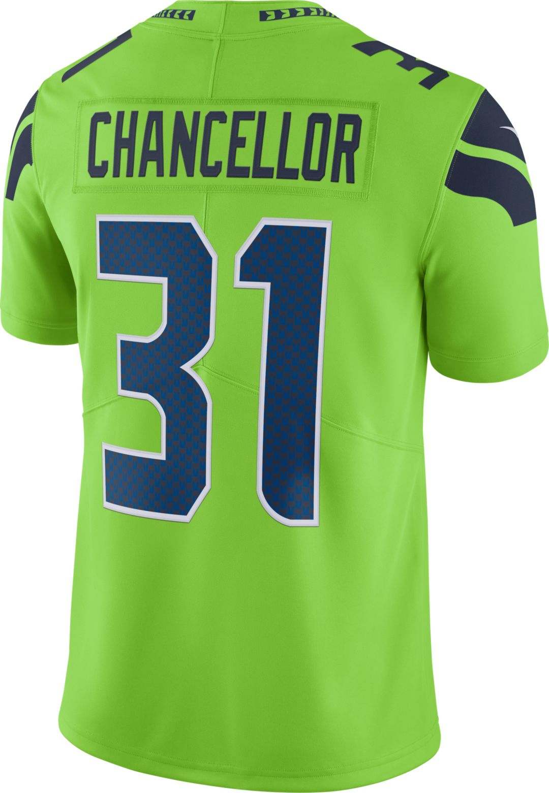detailed look daa9d c7df7 Nike Men's Color Rush Limited Jersey Seattle Seahawks Kam Chancellor #31