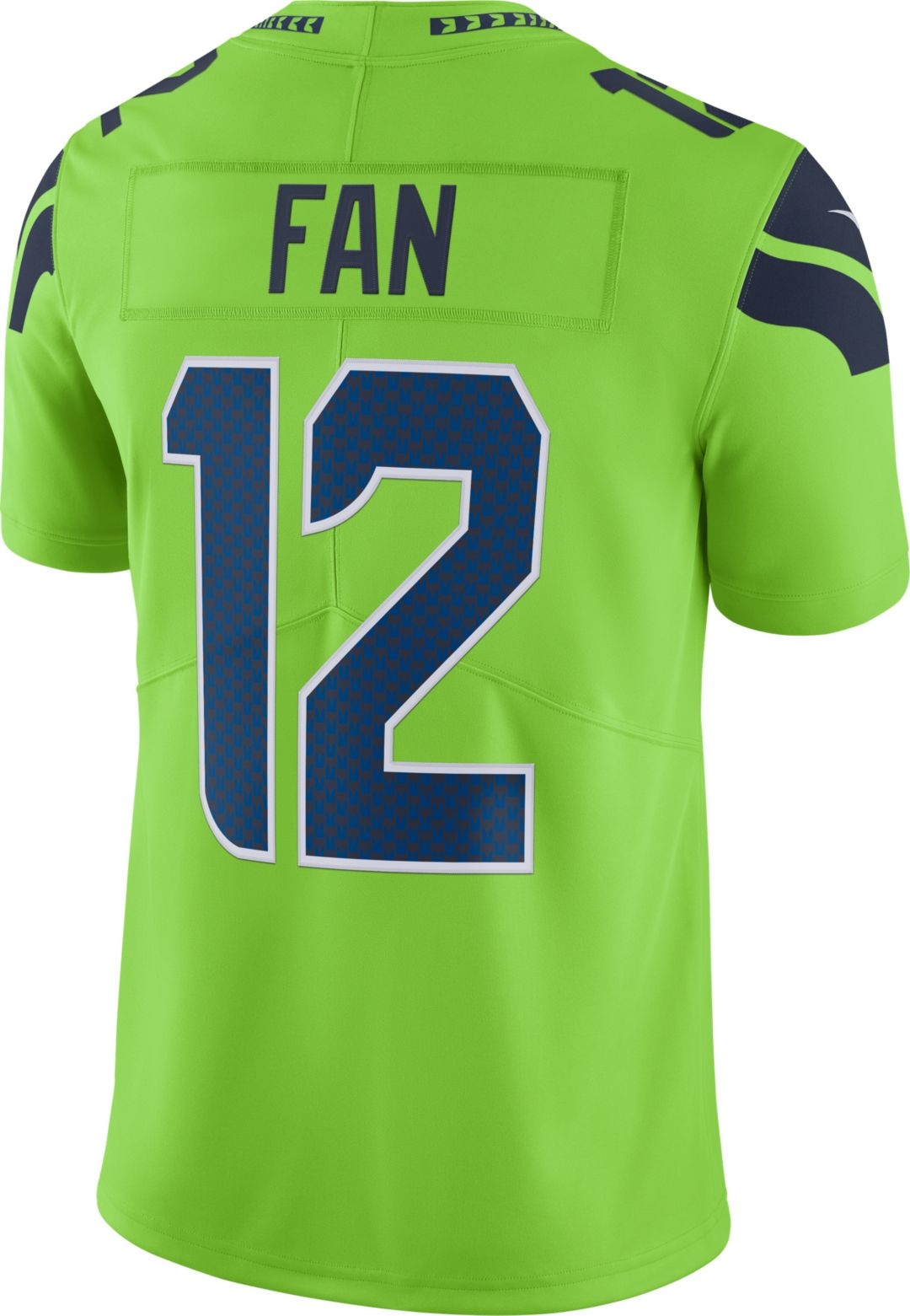 finest selection 7f6fb 985c1 Nike Men's Color Rush Limited Jersey Seattle Seahawks 12th Fan #12