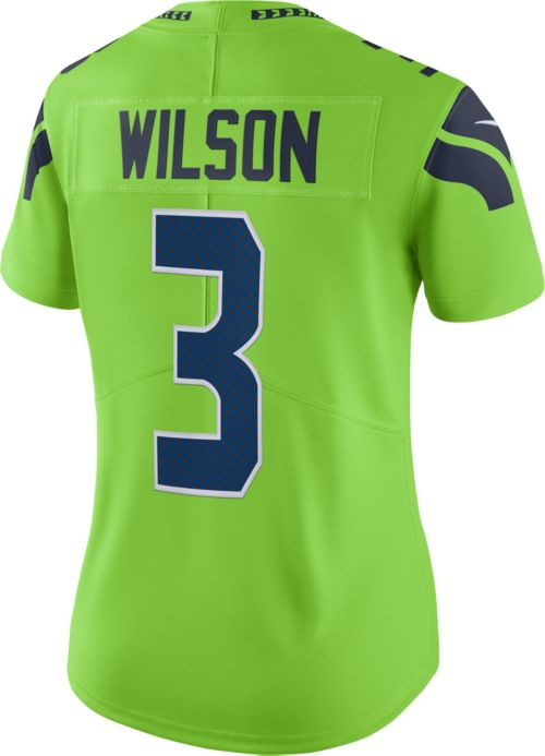 Wholesale Nike Women's Color Rush Limited Jersey Seattle Seahawks Russell  free shipping