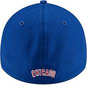 New Era Youth Chicago Cubs Blue 39Thirty Rush Stretch Fit Hat product image