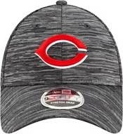 New Era Youth Cincinnati Reds Gray 9Forty Shadow Neo Adjustable Hat product image