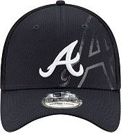 New Era Men's Atlanta Braves Navy 39Thirty Tonel Neo Stretch Fit Hat product image