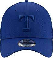 New Era Men's Texas Rangers Blue 39Thirty Perftone Stretch Fit Hat product image