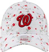 New Era Women's Washington Nationals White Blossom 9Twenty Adjustable Hat product image