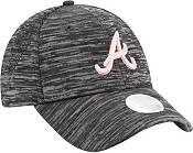 New Era Women's Atlanta Braves Gray 9Forty Tech League Adjustable Hat product image