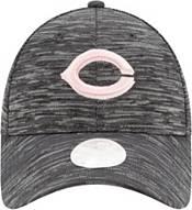 New Era Women's Cincinnati Reds Gray 9Forty Tech League Adjustable Hat product image