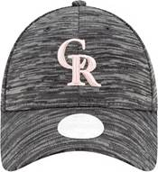 New Era Women's Colorado Rockies Gray 9Forty Tech League Adjustable Hat product image