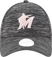 New Era Women's Miami Marlins Gray 9Forty Tech League Adjustable Hat product image