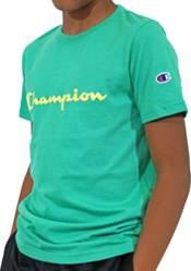 Champion Boys' Classic Script T-Shirt product image