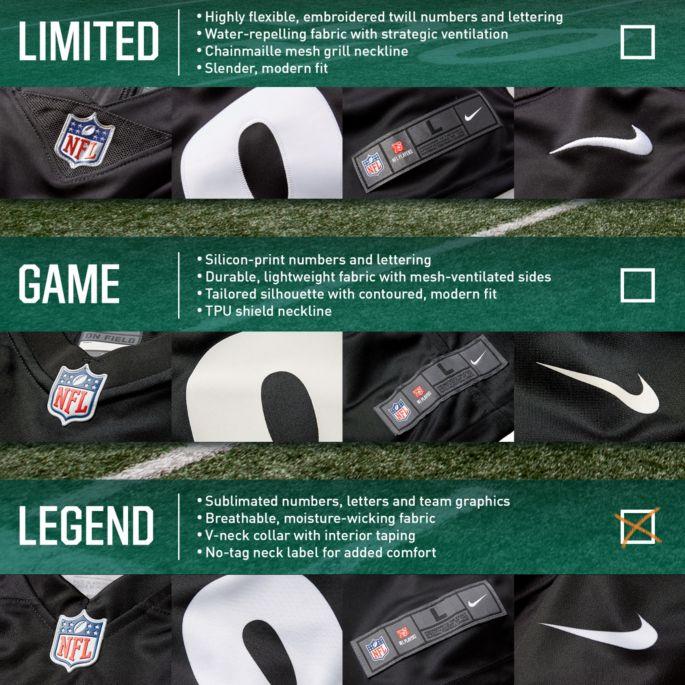cecf5d3c Nike Men's Color Rush Legend Jersey Buffalo Bills Josh Allen #17