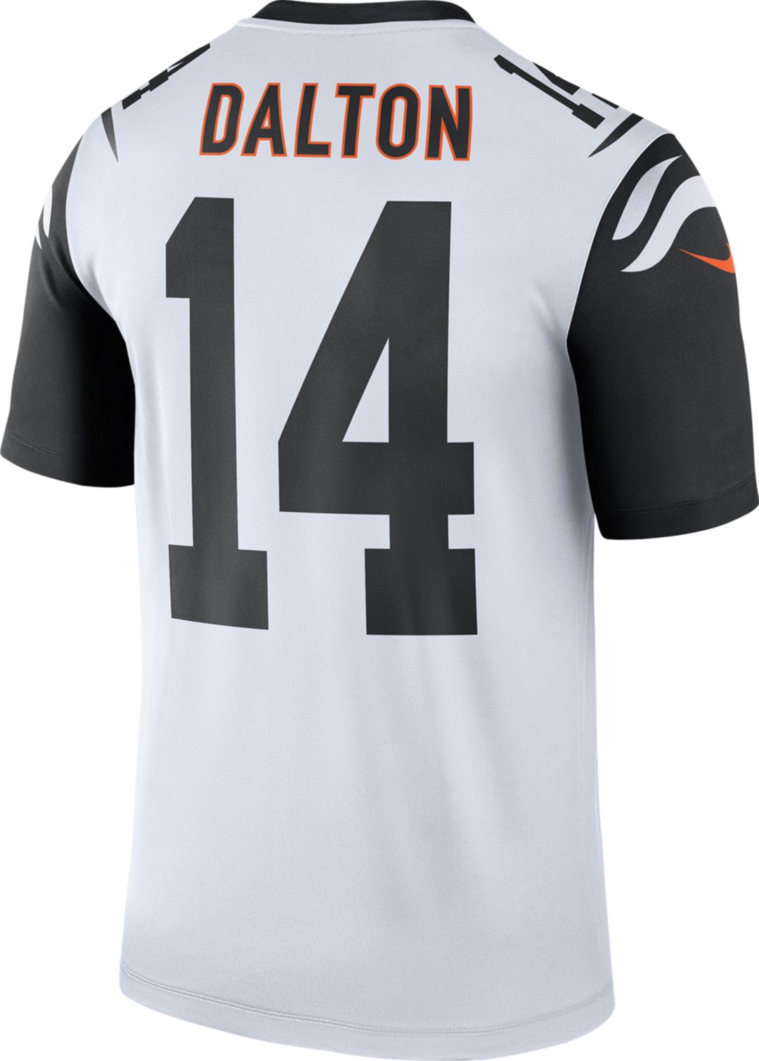 Nice Nike Men's Color Rush Cincinnati Bengals Andy Dalton #14 Legend  free shipping