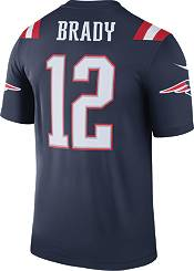 Nike Men's Color Rush New England Patriots Tom Brady #12 Legend Jersey product image