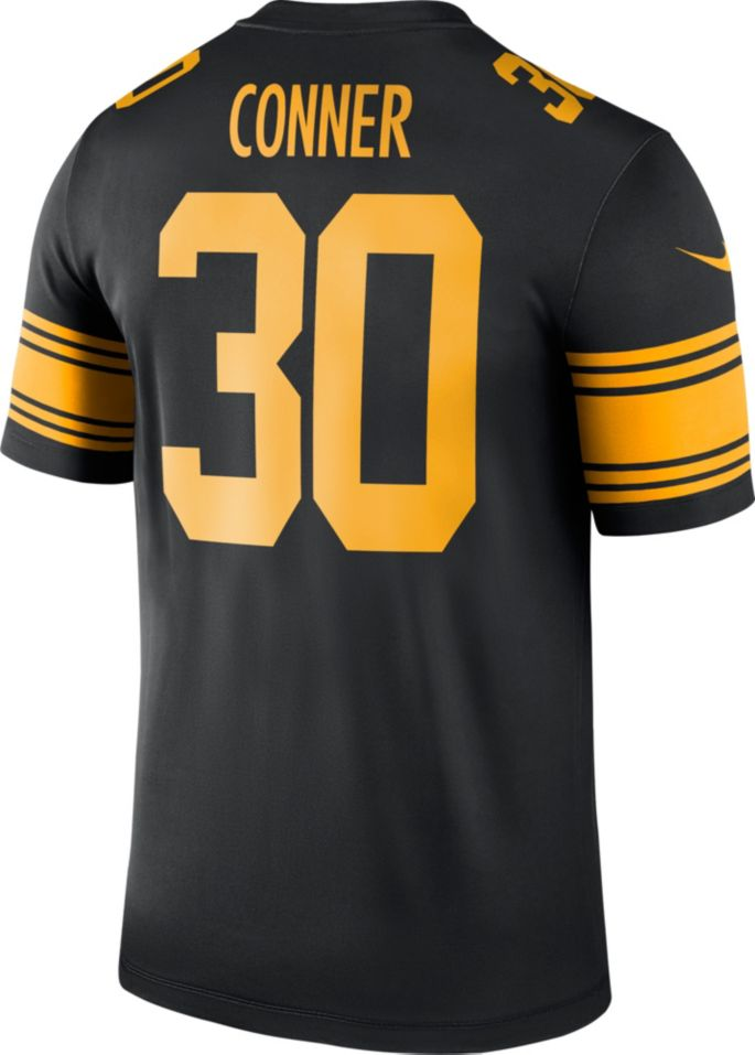online retailer 987e6 9e0cf Nike Men's Color Rush Legend Jersey Pittsburgh Steelers James Conner #30