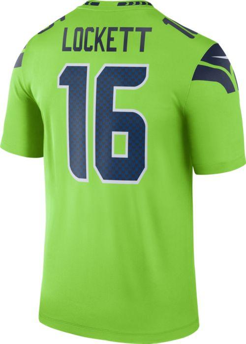 653a04e25 Nike Men s Color Rush Seattle Seahawks Tyler Lockett  16 Legend Jersey.  noImageFound. Previous. 1. 2. 3