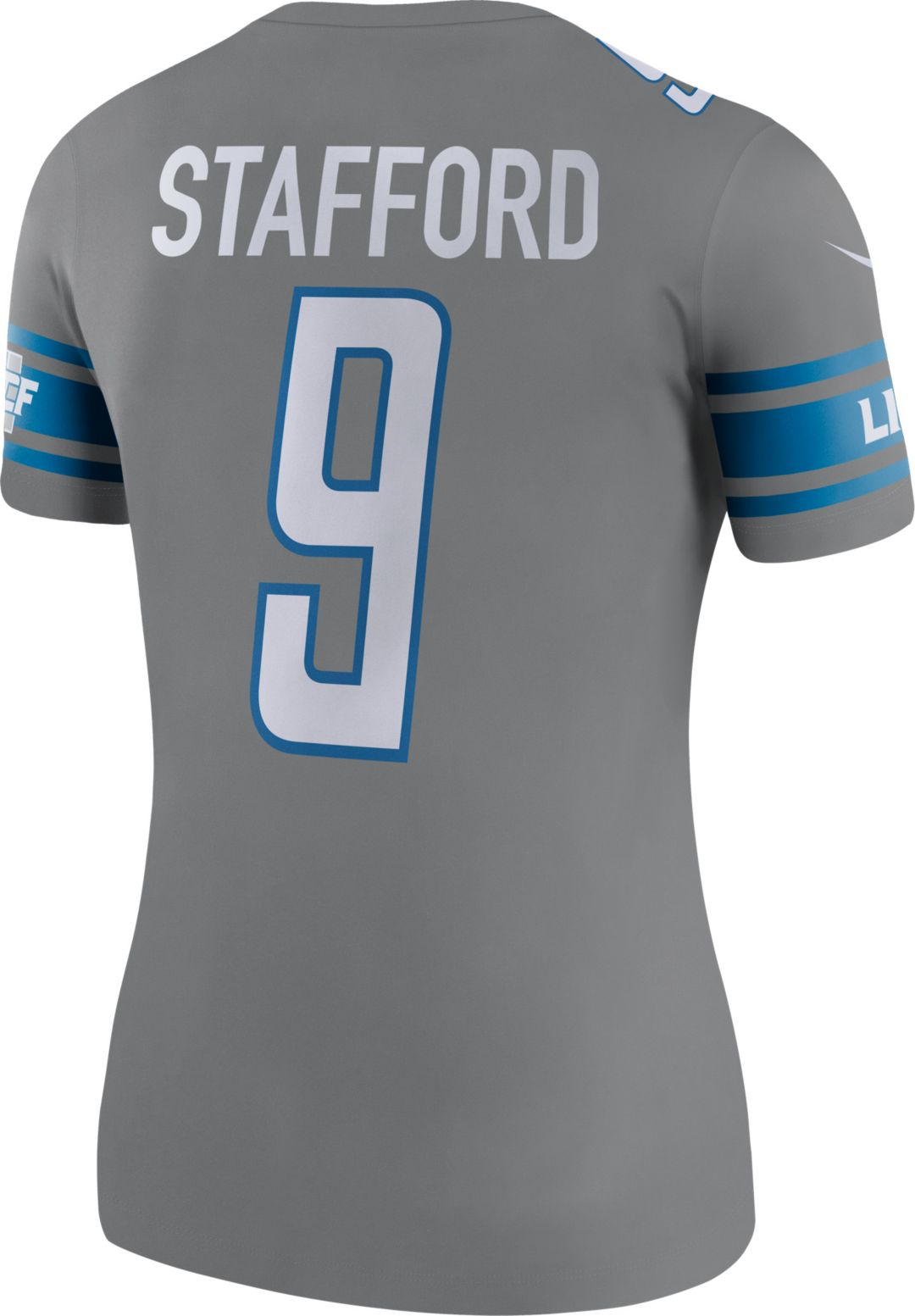 check out 58ceb 41dfa Nike Women's Color Rush Legend Jersey Detroit Lions Matthew Stafford #9