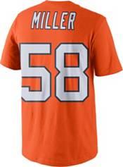 Nike Men's Denver Broncos Von Miller #58 Color Rush Orange T-Shirt product image