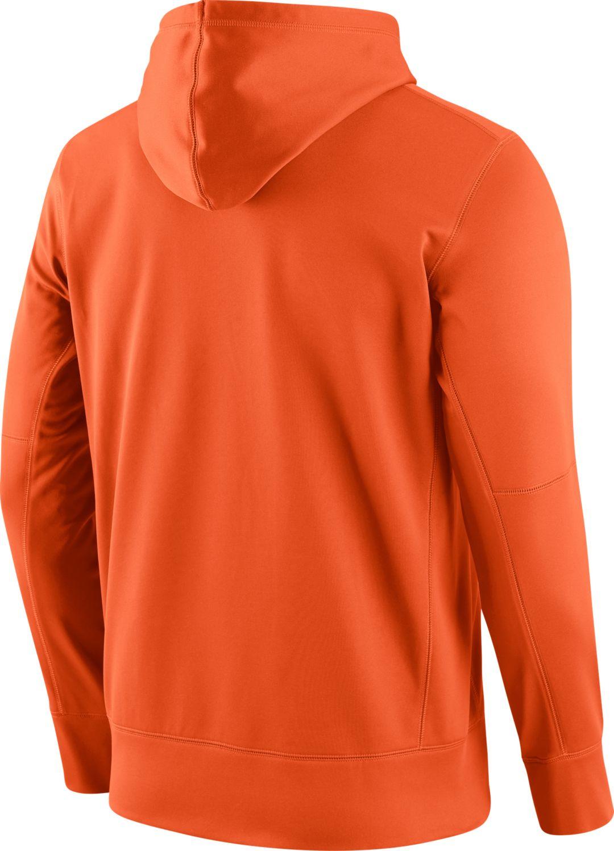 super popular c3f48 92af5 Nike Men's Denver Broncos Performance Circuit Logo Essential Orange Hoodie