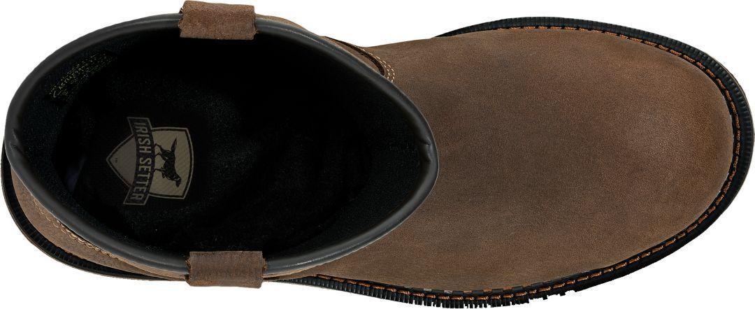 aef941bdee0 Irish Setter Men's Ramsey 2.0 11'' Pull-On Waterproof Aluminum Toe Work  Boots
