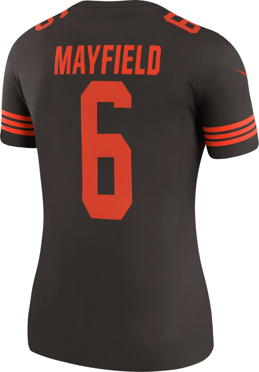 new style a9364 bebaa Nike Women's Color Rush Legend Brown Jersey Cleveland Browns Baker Mayfield  #6