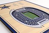 You the Fan Dallas Cowboys 5-Layer StadiumViews 3D Wall Art product image