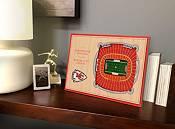You the Fan Kansas City Chiefs Stadium Views Desktop 3D Picture product image