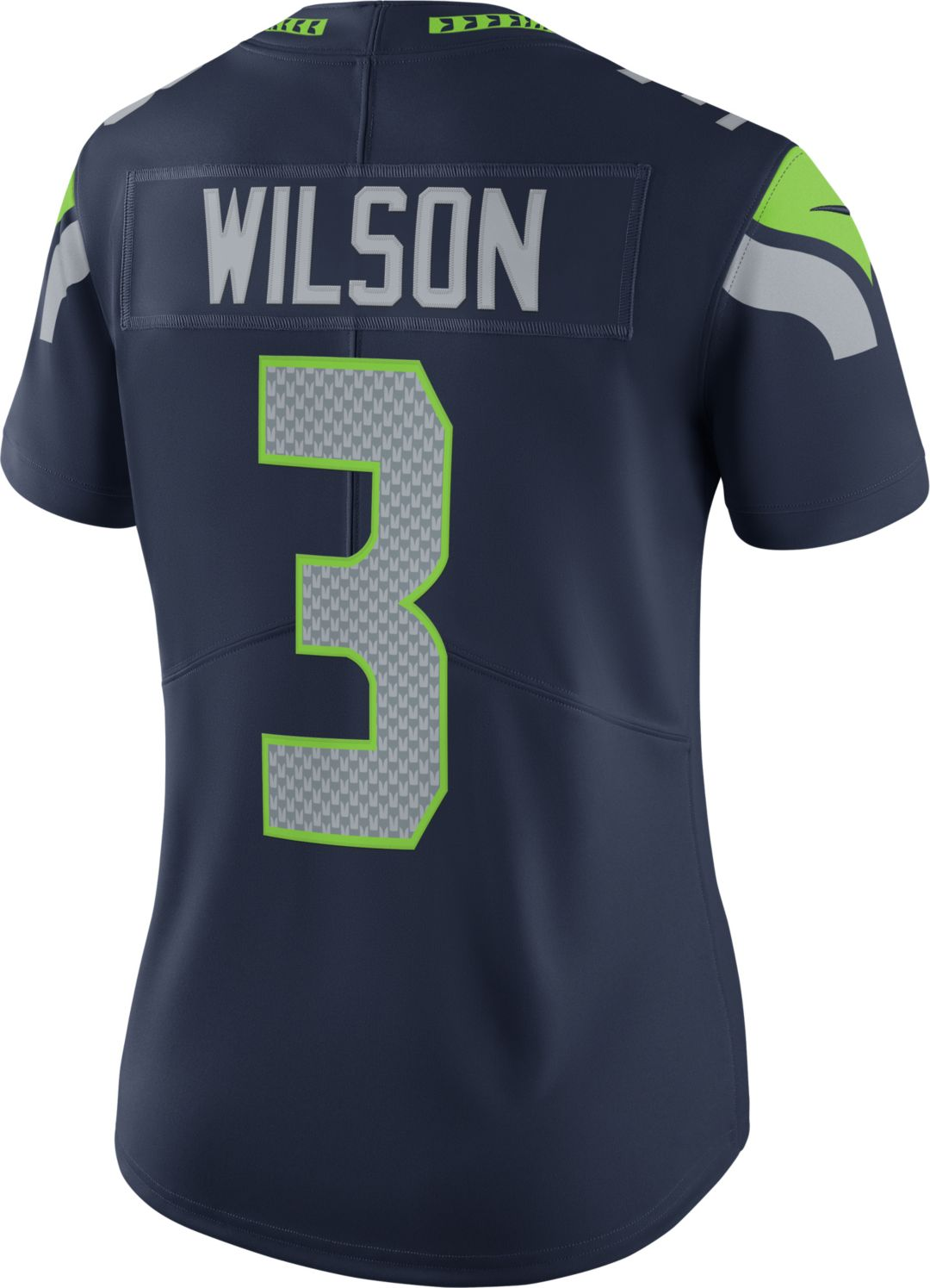 new arrival e9cf6 89b3a Nike Women's Home Limited Jersey Seattle Seahawks Russell Wilson #3