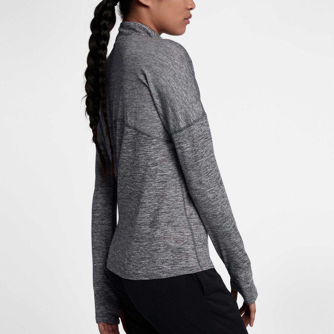 493f104077103 Nike Women's Dry Element Half Zip Long Sleeve Running Shirt