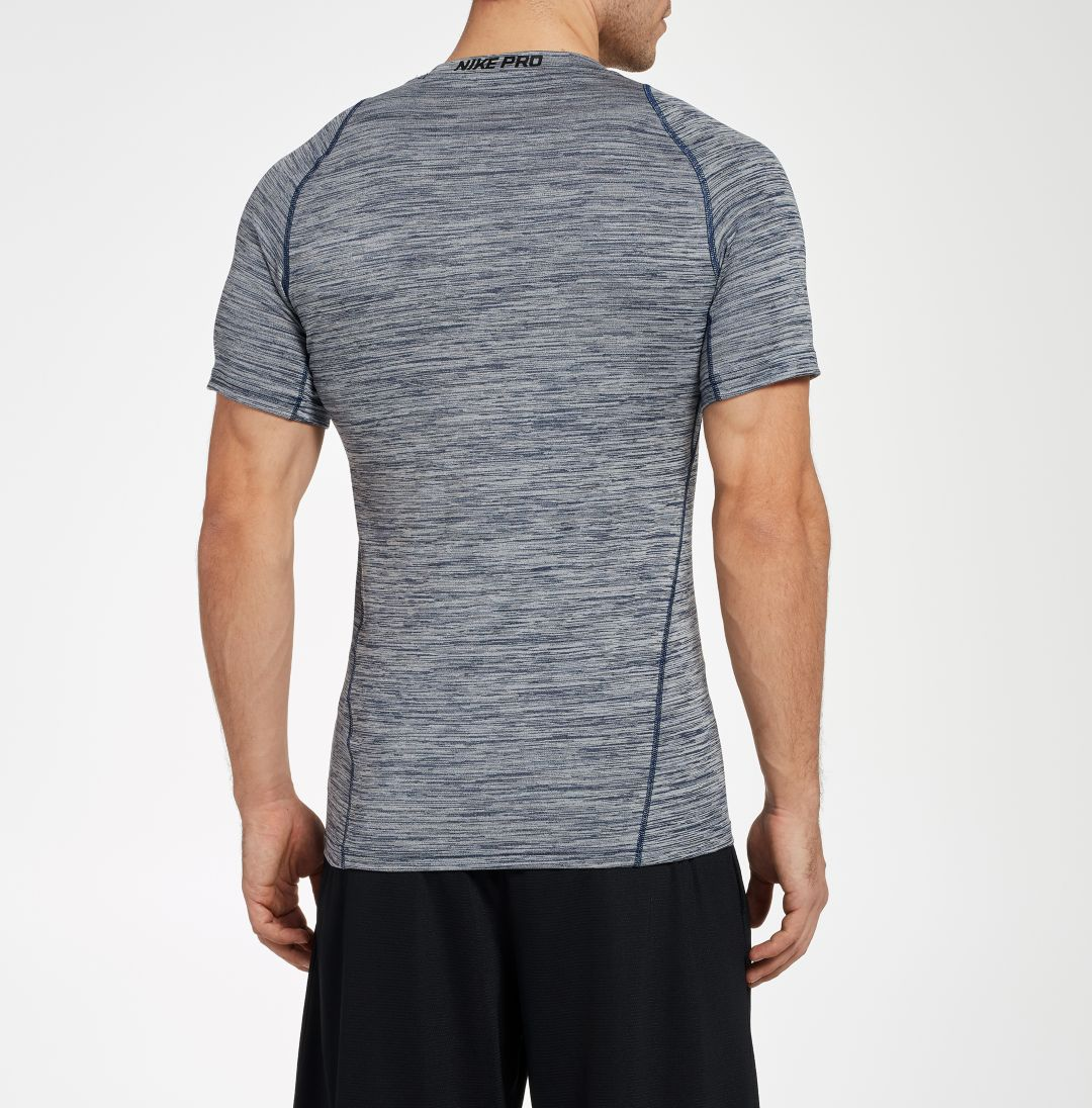 4d26179837906 Nike Men's Pro Heather Printed Fitted T-Shirt