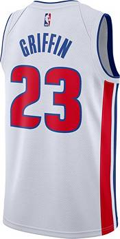 Nike Men's Detroit Pistons Blake Griffin #23 White Dri-FIT Swingman Jersey product image