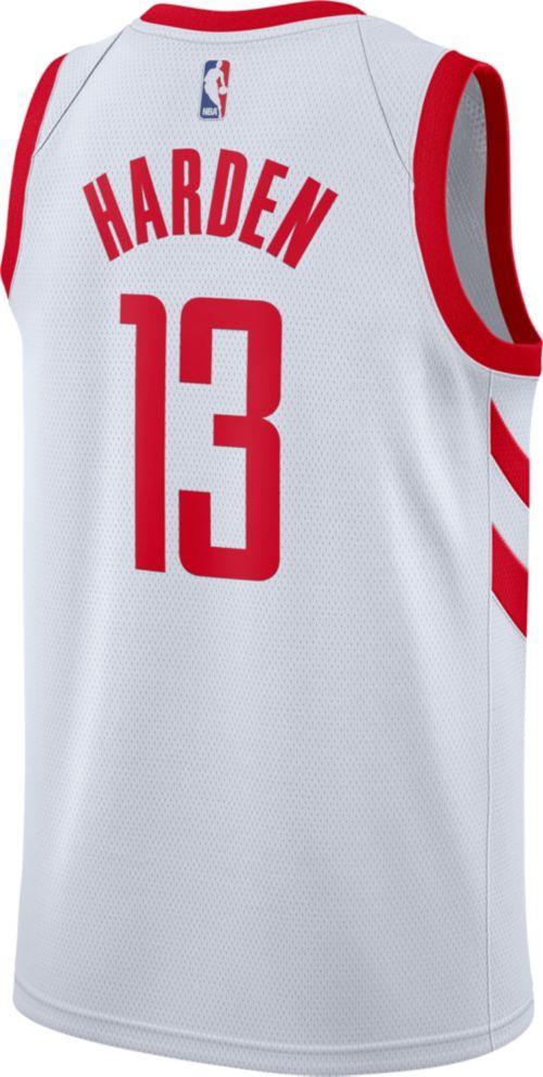 405a0cdc3b9 Nike Men s Houston Rockets James Harden  13 White Dri-FIT Swingman Jersey.  noImageFound. Previous. 1. 2. 3