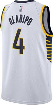 Nike Men's Indiana Pacers Victor Oladipo #4 White Dri-FIT Swingman Jersey product image