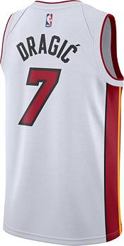 Nike Men's Miami Heat Goran Dragic #7 White Dri-FIT Swingman Jersey product image