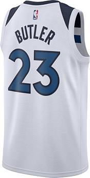 Nike Men's Minnesota Timberwolves Jimmy Butler #23 White Dri-FIT Swingman Jersey product image