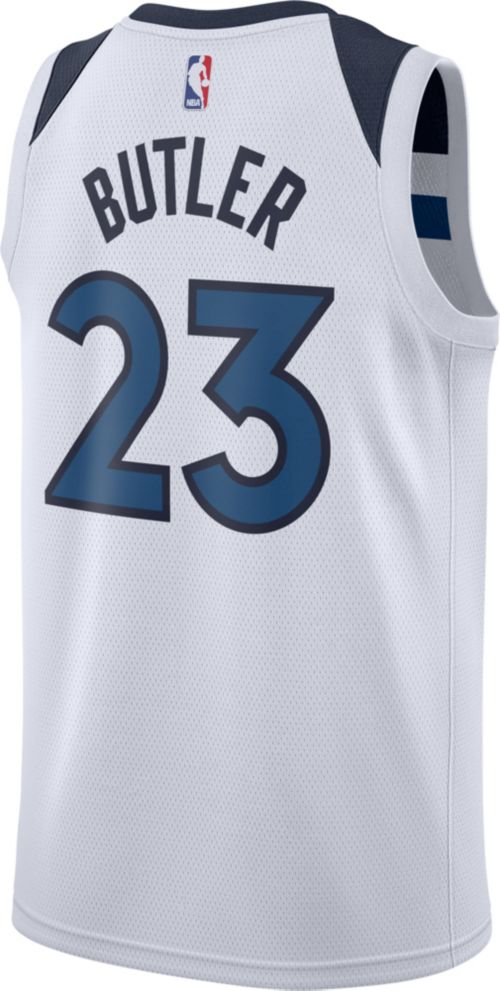 d127b04ed Nike Men s Minnesota Timberwolves Jimmy Butler  23 White Dri-FIT Swingman  Jersey. noImageFound. Previous. 1. 2. 3