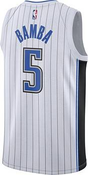 Nike Men's Orlando Magic Mohamed Bamba #5 White Dri-FIT Swingman Jersey product image