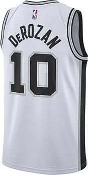 Nike Men's San Antonio Spurs DeMar DeRozan #10 White Dri-FIT Swingman Jersey product image