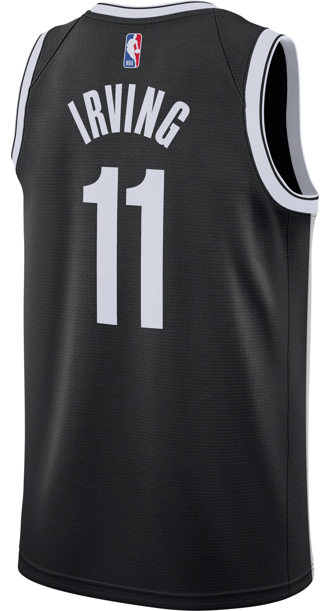 100% authentic 1979d 6e786 Nike Men's Brooklyn Nets Kyrie Irving #11 Black Dri-FIT Swingman Jersey