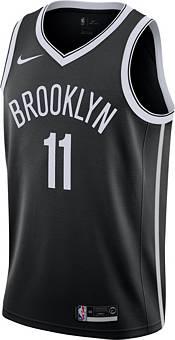 Nike Men's Brooklyn Nets Kyrie Irving #11 Black Dri-FIT Swingman Jersey product image