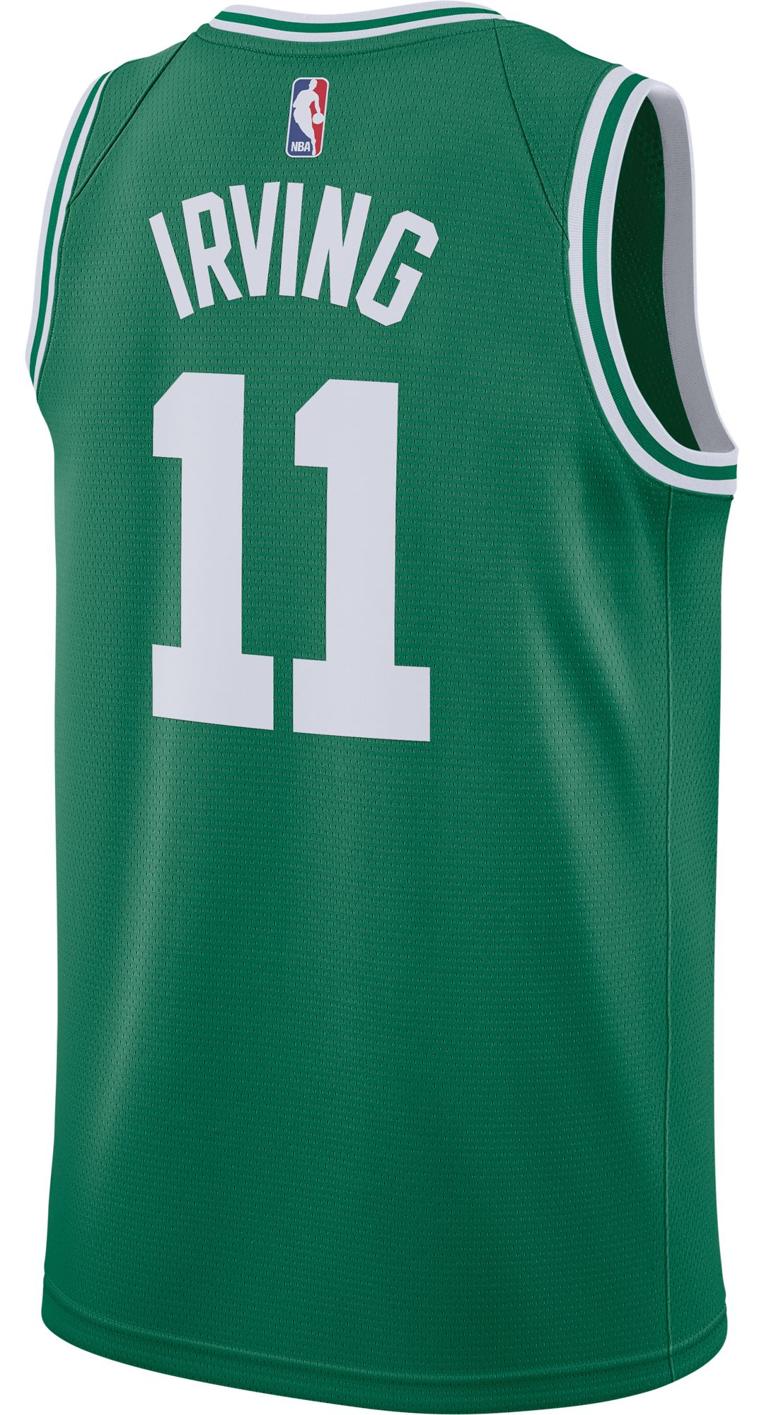 071ed4e7a8f4 Nike Men s Boston Celtics Kyrie Irving  11 Kelly Green Dri-FIT Swingman  Jersey 3