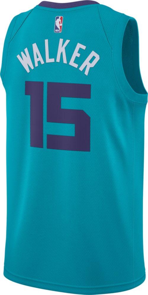 05a8ca6cf8a Jordan Men s Charlotte Hornets Kemba Walker  15 Teal Dri-FIT Swingman Jersey.  noImageFound. Previous. 1. 2. 3