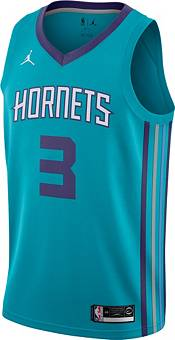 Nike Men's Charlotte Hornets Terry Rozier #3  Teal Dri-FIT Swingman Jersey product image