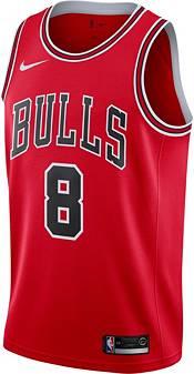 Nike Men's Chicago Bulls Zack Lavine #8 Red Dri-FIT Swingman Jersey product image
