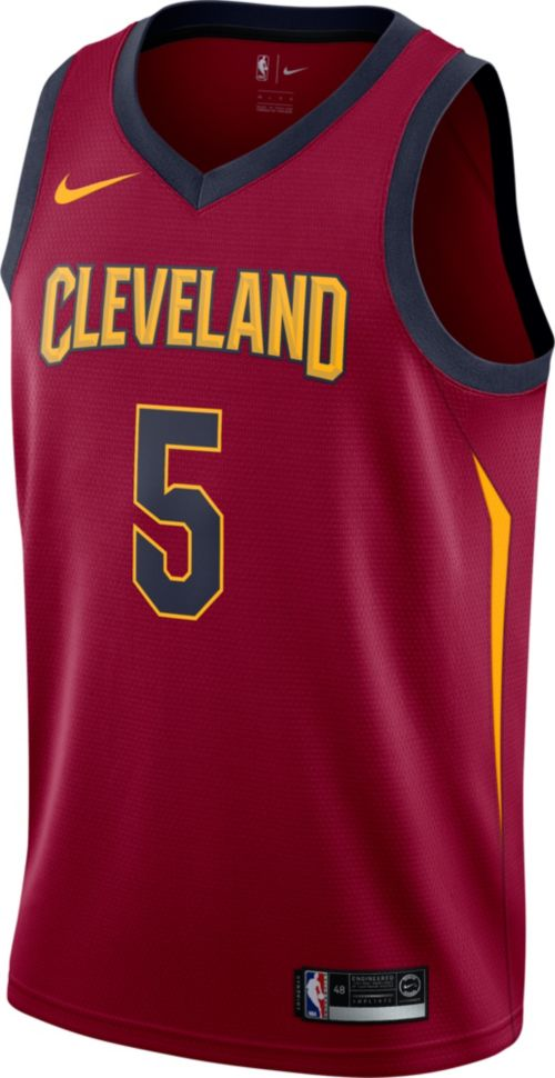 b9afaa80288 Nike Men s Cleveland Cavaliers J.R. Smith  5 Burgundy Dri-FIT Swingman  Jersey. noImageFound. Previous