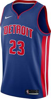 Nike Men's Detroit Pistons Blake Griffin #23 Royal Dri-FIT Swingman Jersey product image