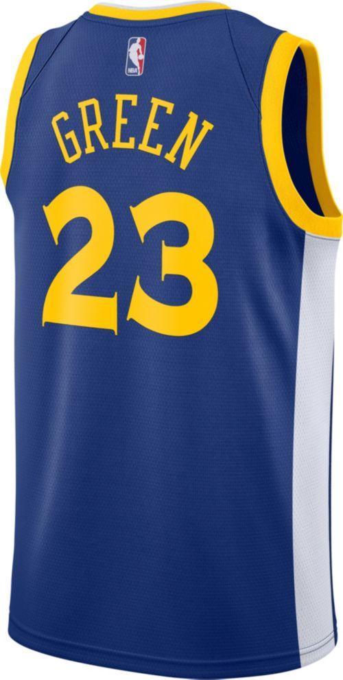 52981db78 Nike Men s Golden State Warriors Draymond Green  23 Royal Dri-FIT Swingman  Jersey. noImageFound. Previous. 1. 2. 3