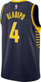 Nike Men's Indiana Pacers Victor Oladipo #4 Navy Dri-FIT Swingman Jersey product image