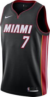 Nike Men's Miami Heat Goran Dragic #7 Dri-FIT Swingman Black Jersey product image