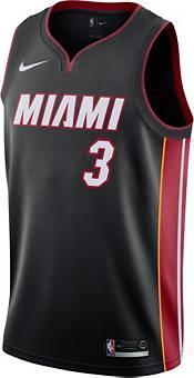 Nike Men's Miami Heat Dwyane Wade #3 Black Dri-FIT Swingman Jersey product image